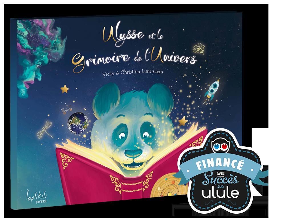 ulysse et le grimoire de l'univers financé avec succès sur Ulule - Laplikili