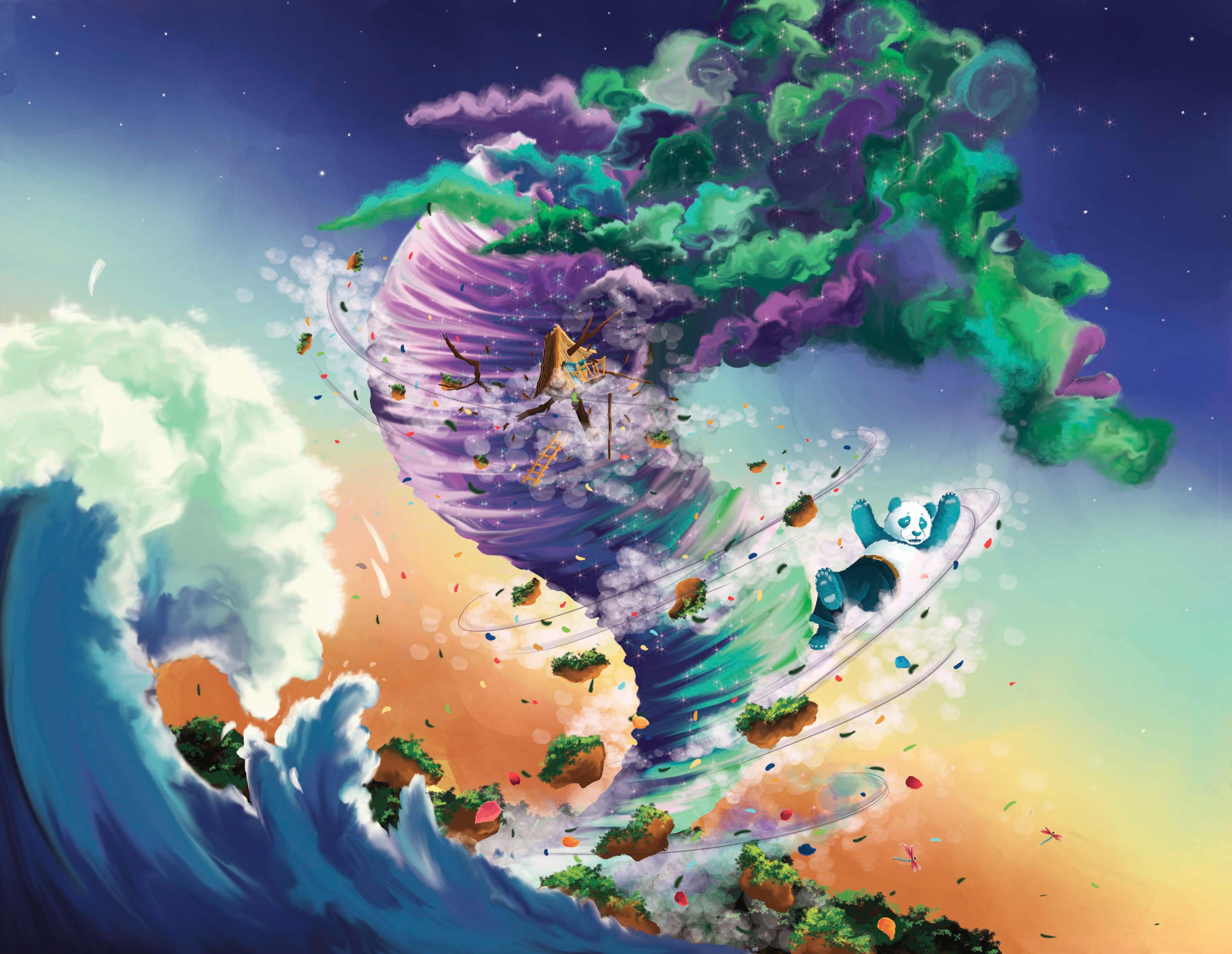 Ulysse et le grimoire de l'univers illustration Laplikili