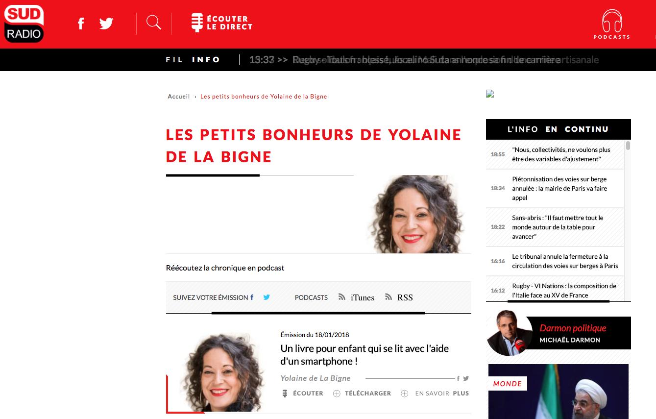 Chronique Sud Radio Ulysse Laplikili