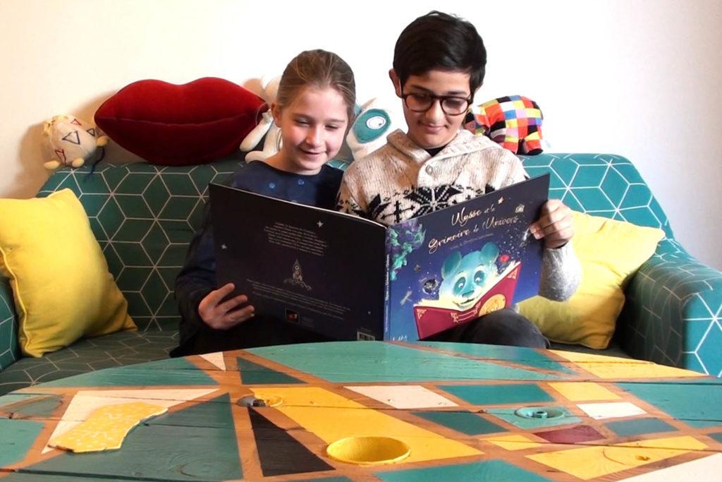 Laplikili Ulysse et le Grimoire de l'Univers, lire un livre jeunesse