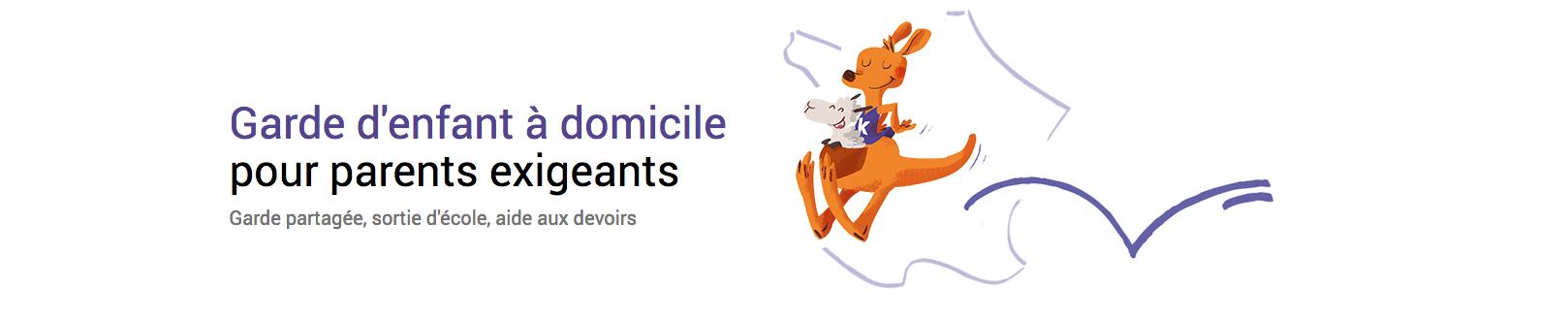 kangourou kids garde d'enfants