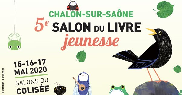 salon du livre jeunesse de chalon-sur-saône