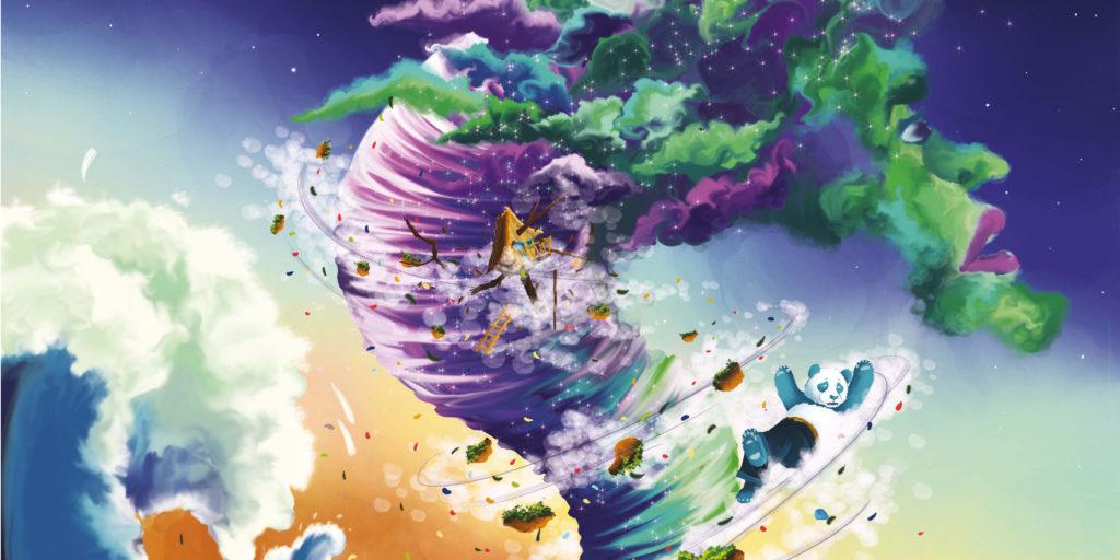 illustration Ulysse et le grimoire de l'univers laplikili