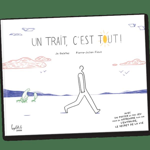 couverture de l'album UnTrait c'est tout ! aux éditions Laplikili